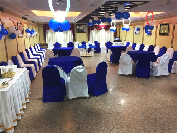 BLUE PARTY SETUP